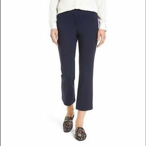Halogen Cropped Navy Pants Size 2 NWT